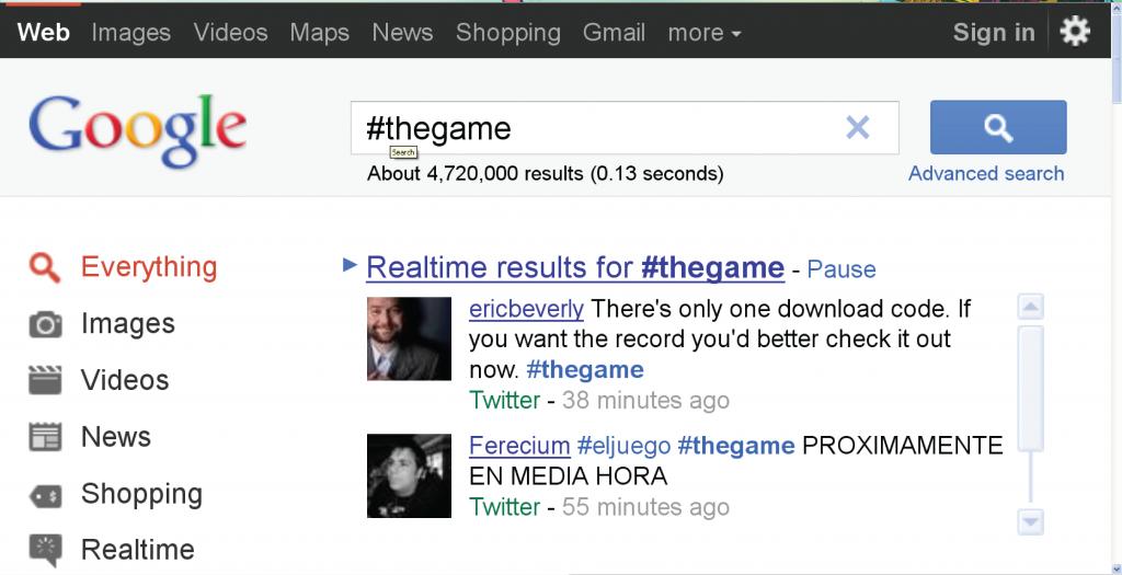 #thegame