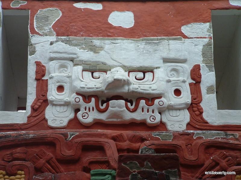 Mayan Temple in Copán Ruinas, Honduras.
