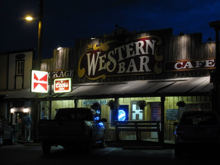 The Western Bar in Cloudcroft, NM